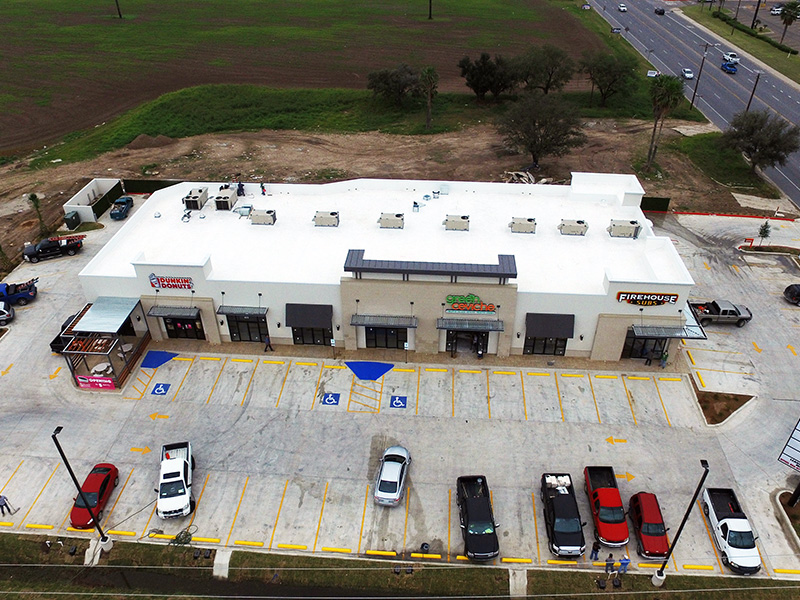 commercial roofing services in Texas